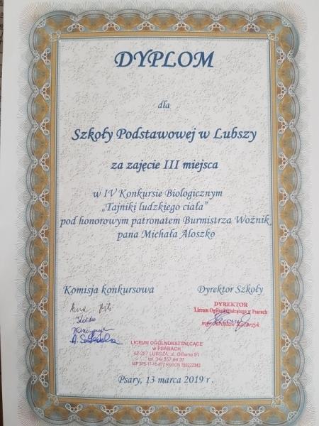 dyplom 2018 2019